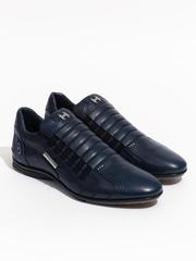 Кожаные кроссовки Alexander Hotto 56402 синие