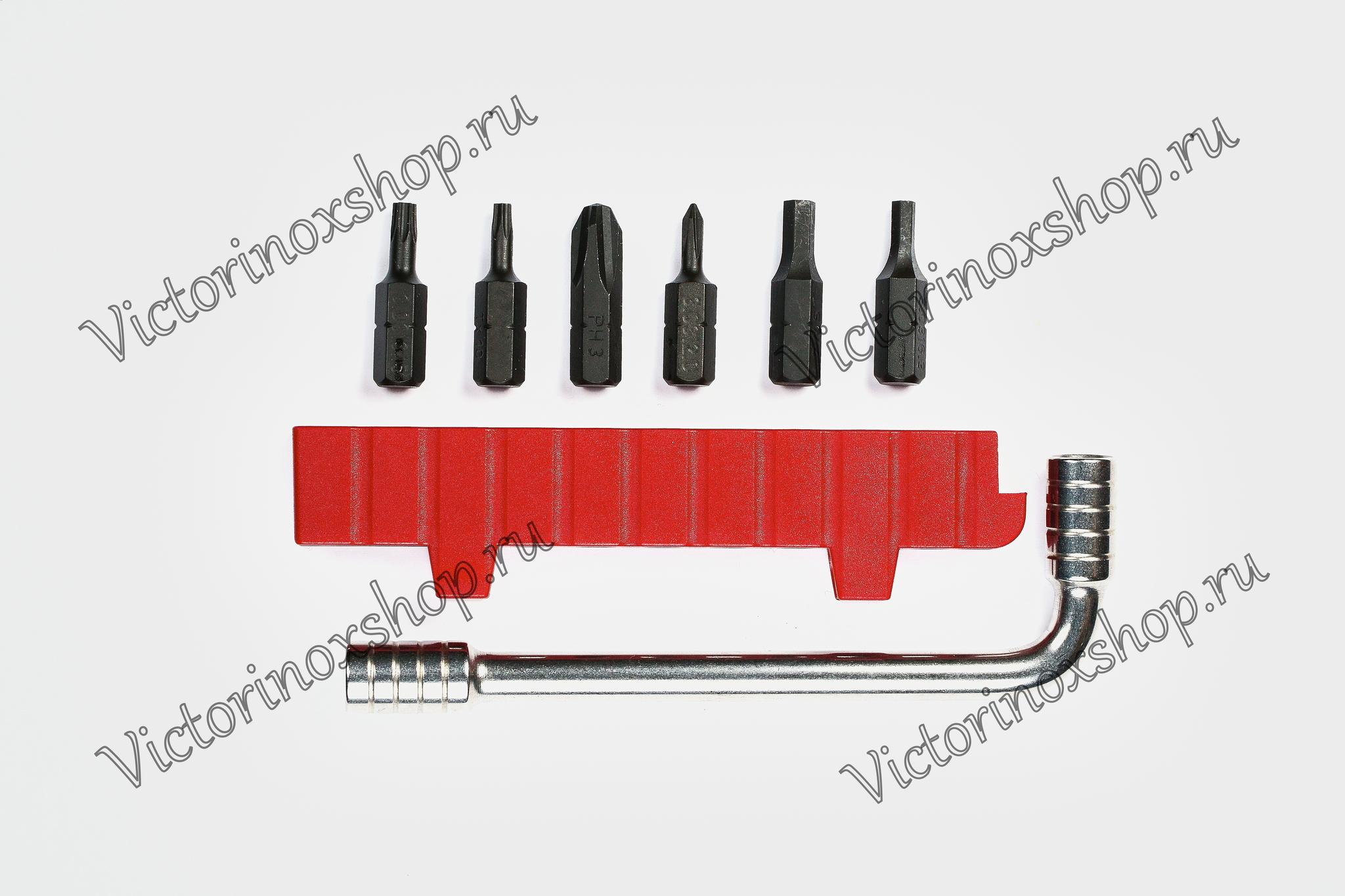 Монтажный ключ с набором бит для SwissTool Victorinox (3.0303)