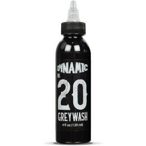 ТАТУ КРАСКА DYNAMIC #20 GREYWASH (Lightest) 120 мл