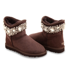 UGG & Jimmy Choo Crystal Chocolate