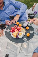 Складной столик для вина, графитовый, фото 2