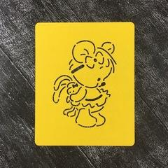 Мишка девочка №1 с игрушкой