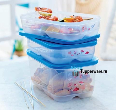 Контейнер Умный холодильник 1,8л и 4,4л для мяса и рыбы