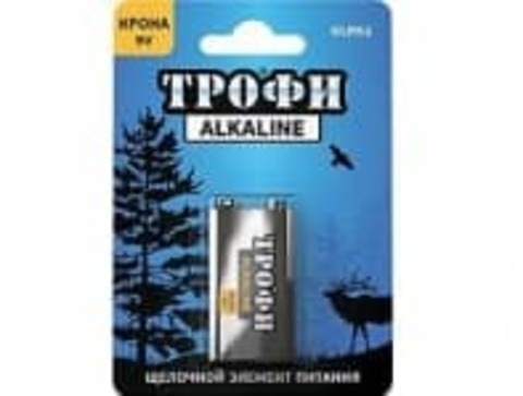 Элемент питания Трофи 6LR61-1BL