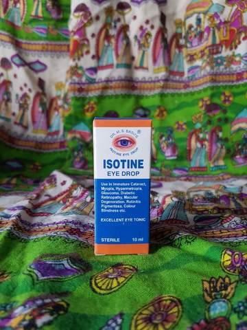 Капли для глаз ISOTINE, (Индия)