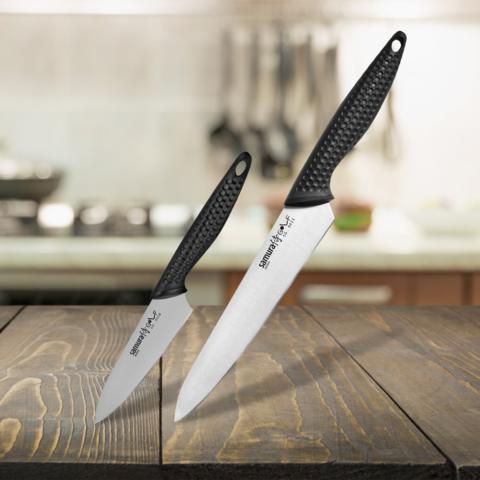 Набор из 2 кухонных ножей Samura GOLF