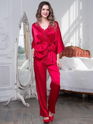 Комплект брючный 3 предмета Mia-Amore MARISIA МАРИСИЯ 8586 красный