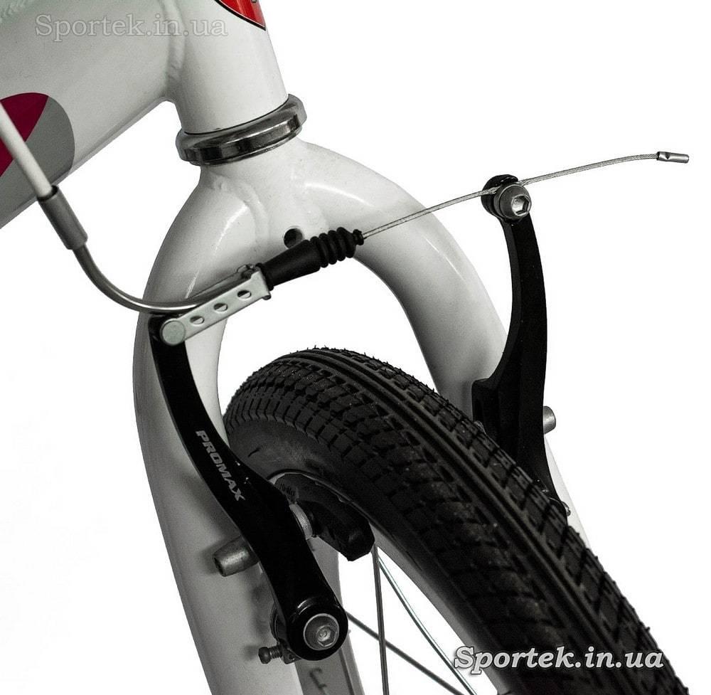Передний тормоз детского велосипеда Leon Kitty (Леон Китти) для девочек 3-5 лет