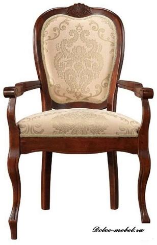 Кресло PR-AC Princess 600х520х970 МиК темный орех