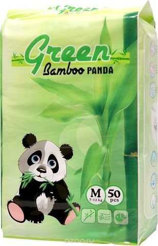 Трусики Green Bamboo Panda,  7-12 кг (M)