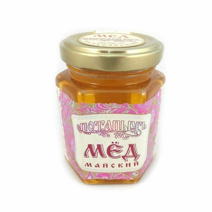 Мёд натуральный ПОТАПЫЧЪ майский [ст/бан 250г]