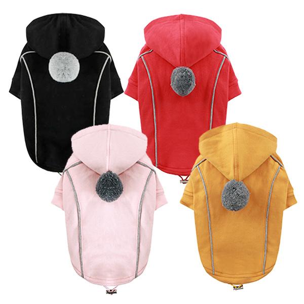 377 PA Толстовка-курточка для собак Двусторонняя