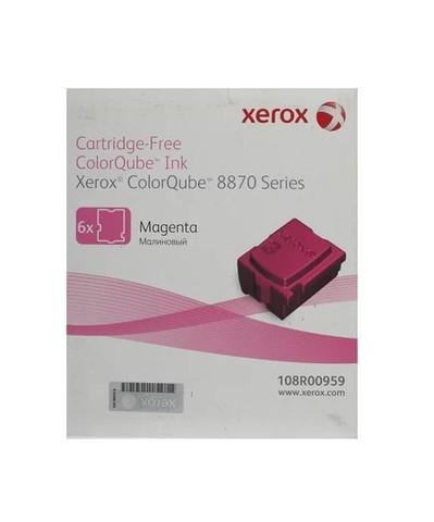 Оригинальный набор картриджей (твердые чернила) Xerox 108R00959, пурпурные (6шт)