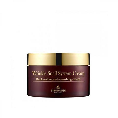 Улиточный крем The Skin House Wrinkle Snail System Cream 100 мл.
