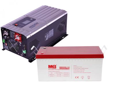 Комплект ИБП HPS30-1012-АКБ MM200 (12в, 1000Вт)