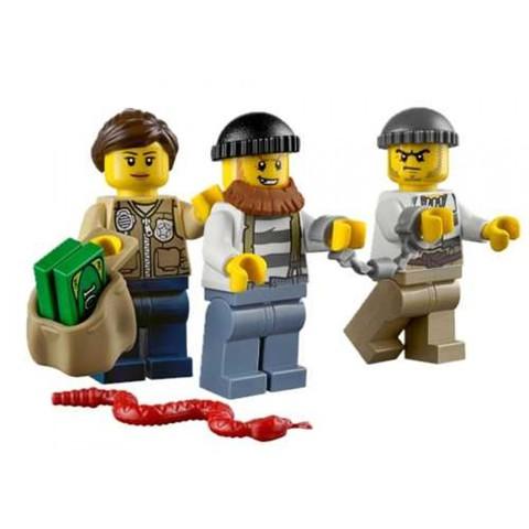 LEGO City: Набор Новая лесная полиция для начинающих 60066 — Swamp Police Starter — Лего Сити Город