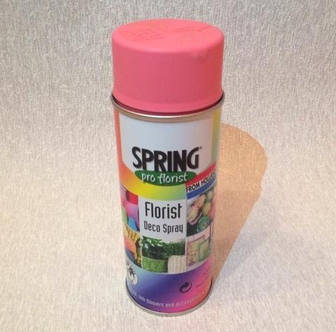 Краска-спрей SPRING (объем:400мл) Цвет: 029, бледно-розовый