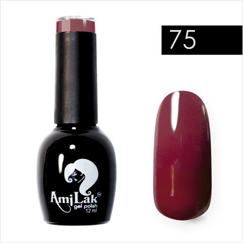 AmiLak Color Gel Polish №075