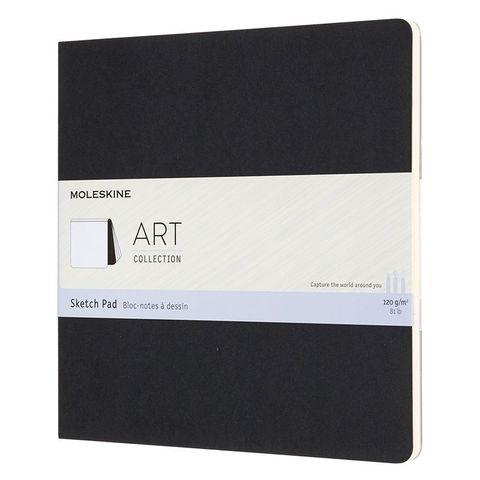 Блокнот для рисования Moleskine ART SOFT SKETCH PAD ARTSKPAD5 190x190мм 88стр. мягкая обложка черный