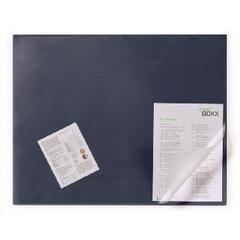 Коврик на стол DURABLE 52х65см синий с прозр.листом ,неск основа 7203-07