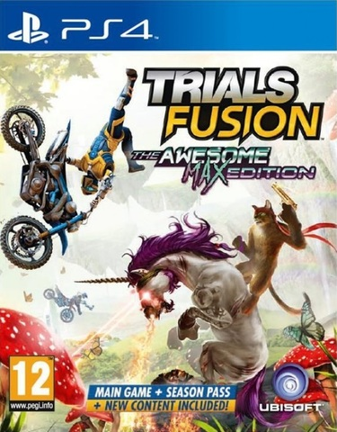 Trials Fusion. Awesome Max Edition (PS4, русская документация)