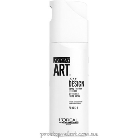 L'Oreal Professionnel Tecni Art Fix Design - Лак для волос