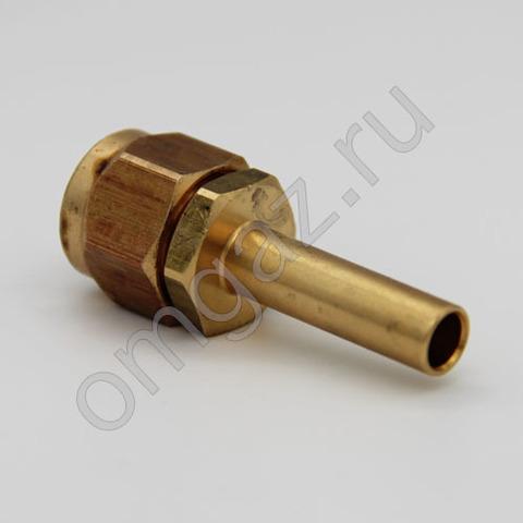Прямой фитинг для термопластиковой трубки D8