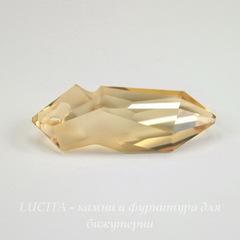 6913 Подвеска Сваровски Kaputt Crystal Golden Shadow (28 мм)
