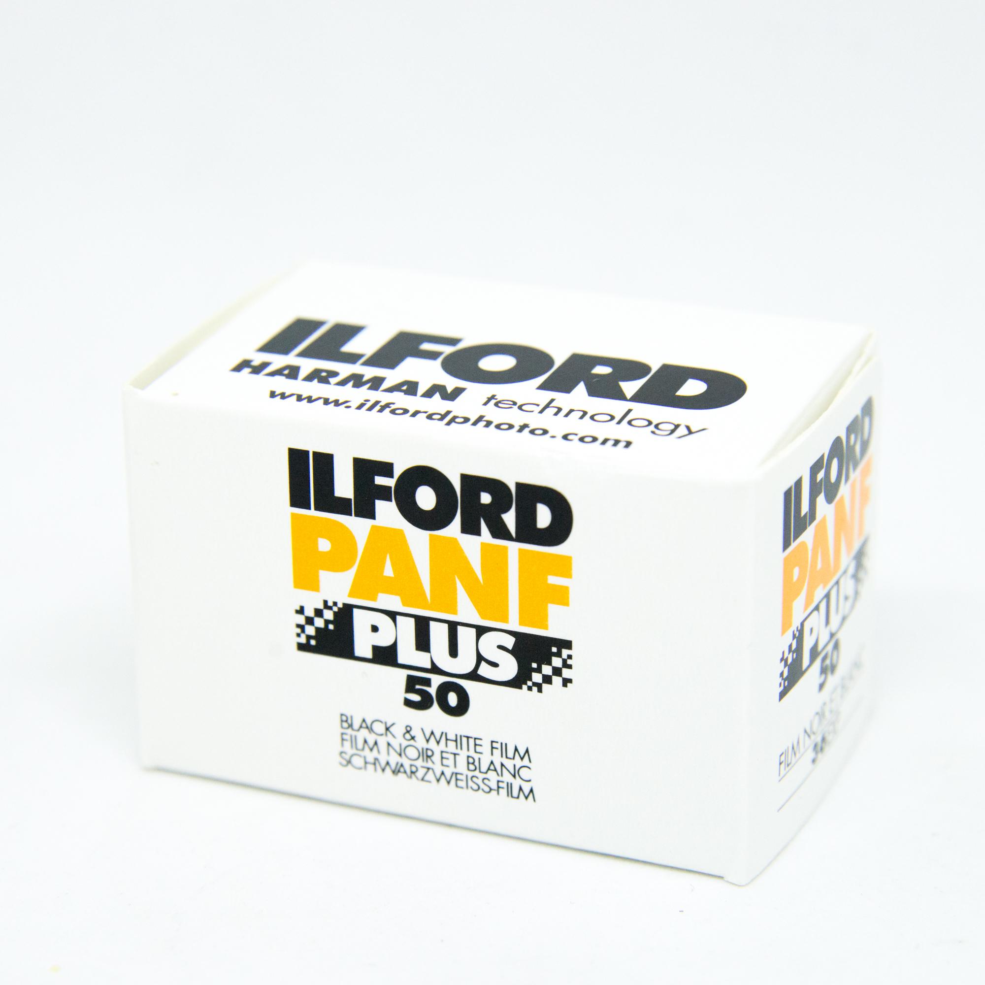 Фотопленка Ilford PAN 50F Plus /135-36
