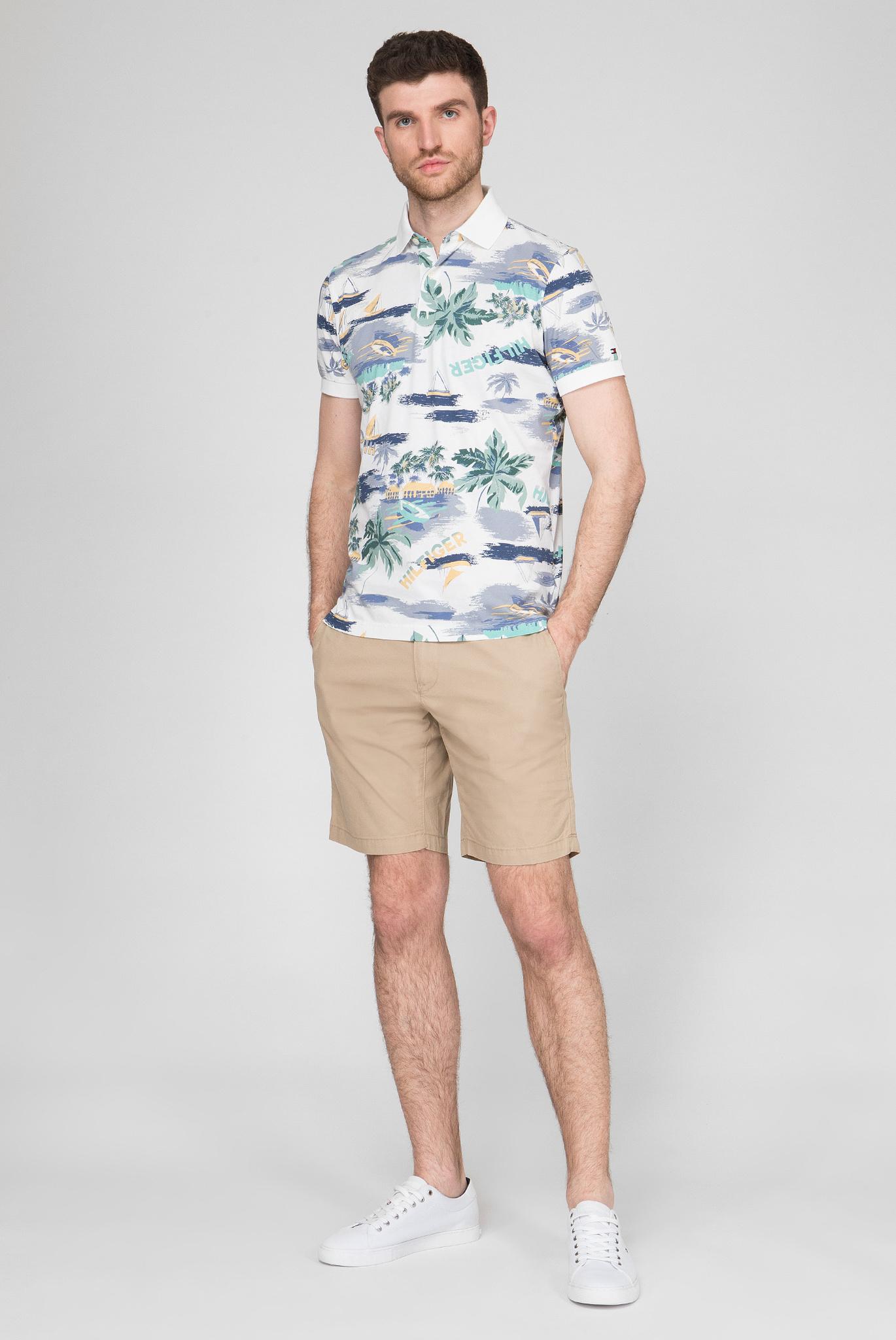 Мужские бежевые шорты Brooklyn Tommy Hilfiger