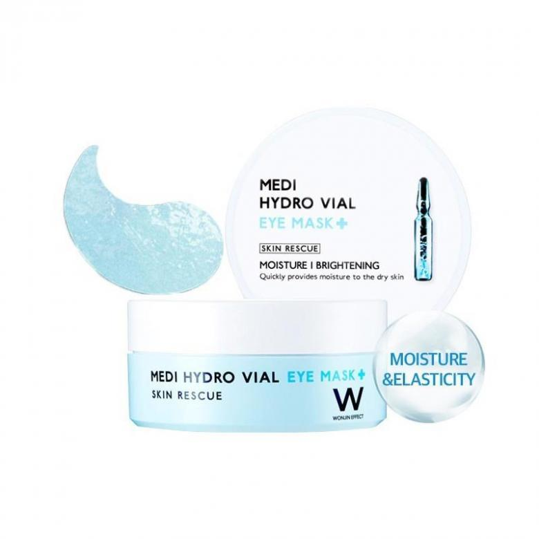 Патчи Wonjin Medi Hydro Vial Eye Mask