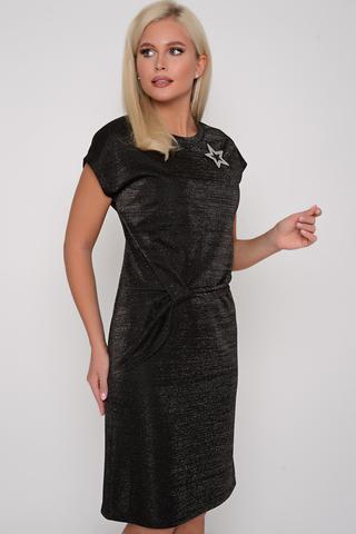 """<p>Платье """"Мерси"""" для предстоящих торжеств с деликатным блеском люрекса. (Брошь в стоимость не входит).</p>"""