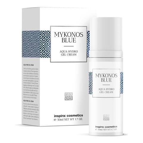 INSPIRA Mykonos Blue: Интенсивно увлажняющий гель-крем (Aqua Hydro Gel Cream), 50мл