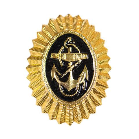 Кокарда ВМФ золотая
