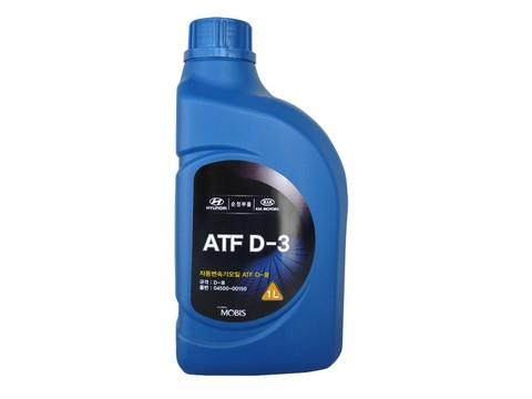 HYUNDAI ATF D-3 (DEXRON III) Жидкость минер. трансмиссионная АКПП (пластик/Корея)