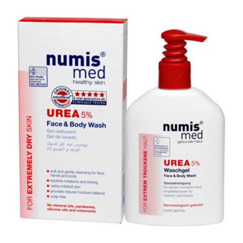 НУМИС МЕД Моющее средство для лица и тела с 5 % мочевиной, 200 мл