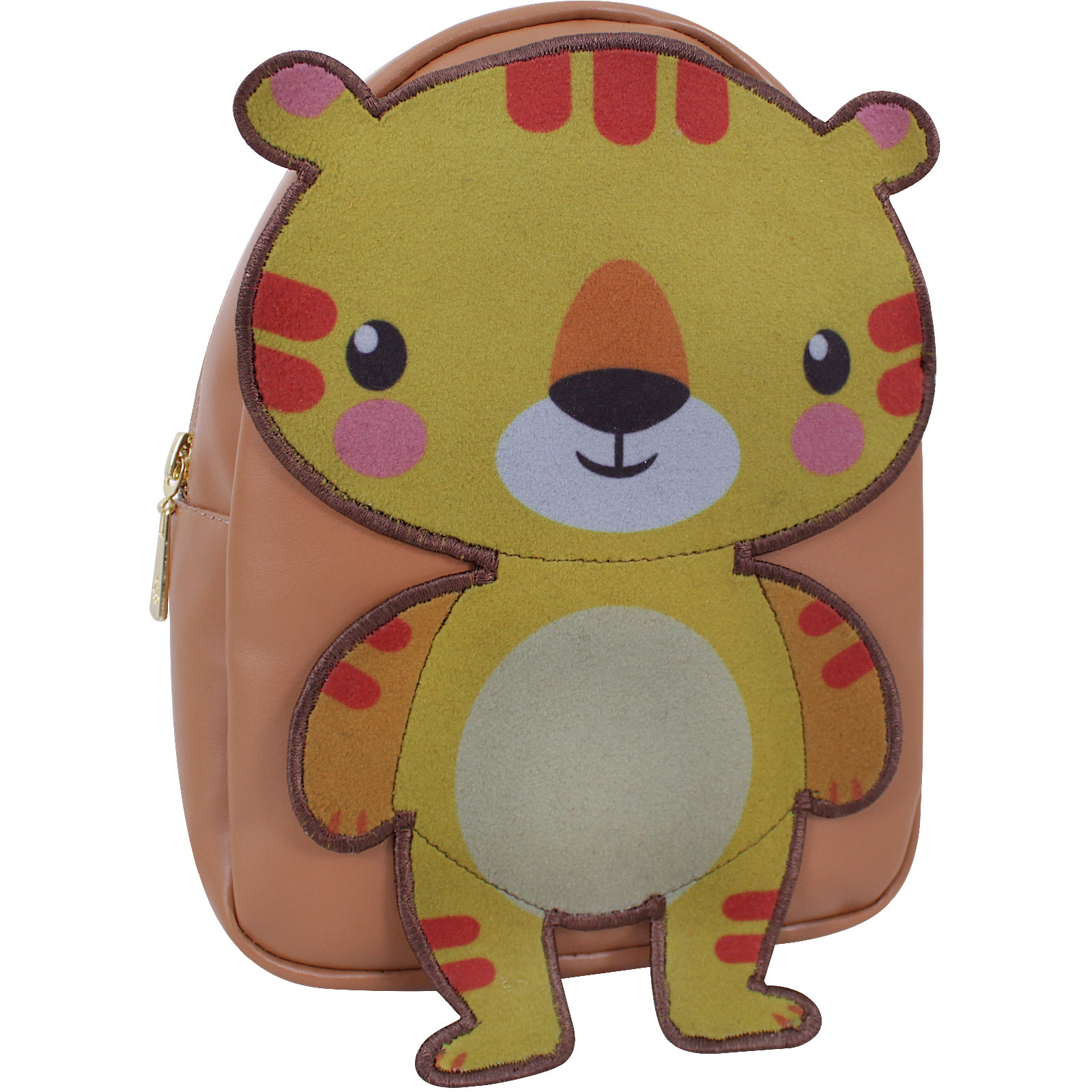 Женские рюкзаки Рюкзак Bagland Animals 4 л. коричневый 923 (0052391) IMG_9523.JPG
