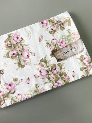 Фланелевая пеленка «Flower»