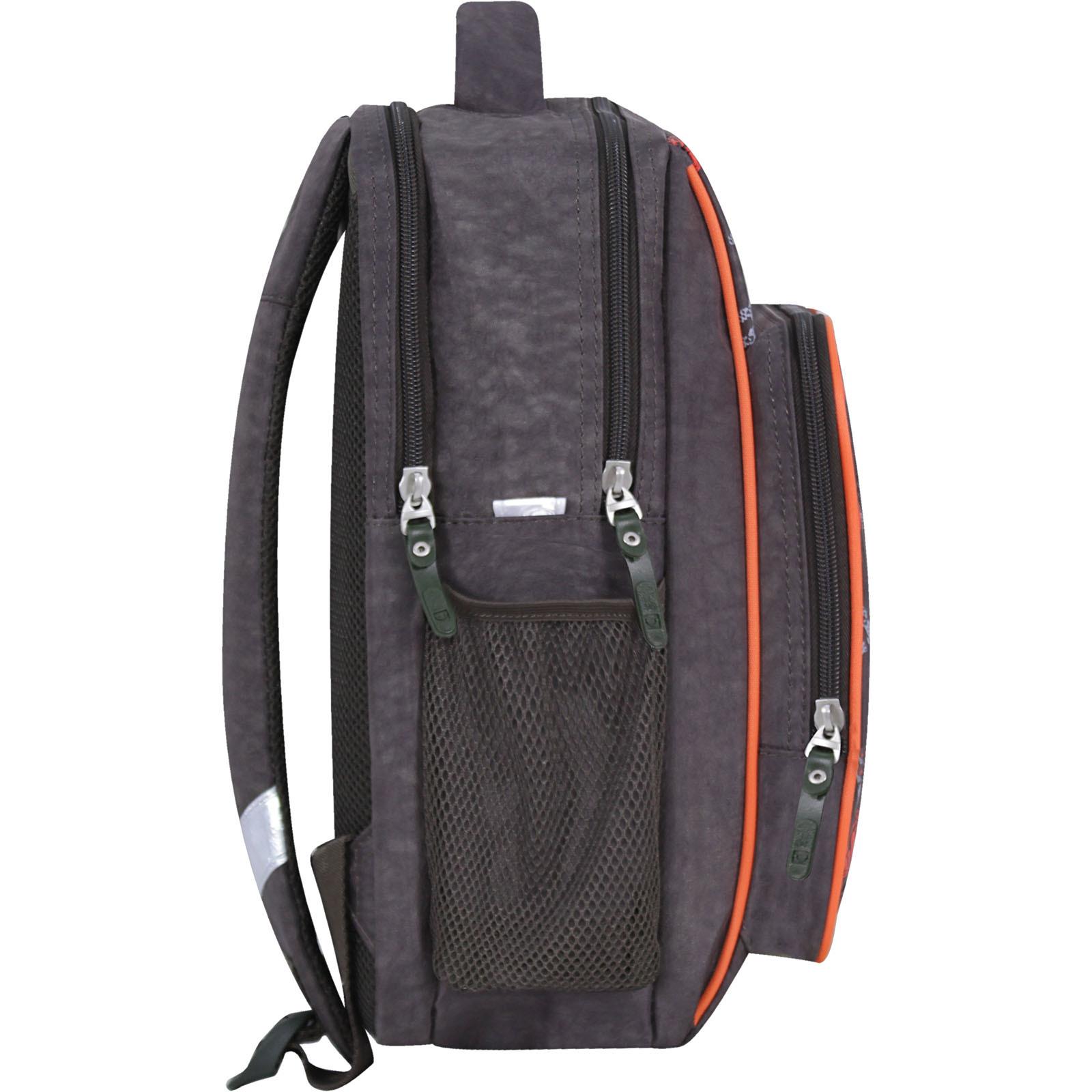 Рюкзак школьный Bagland Школьник 8 л. хаки 666 (0012870)