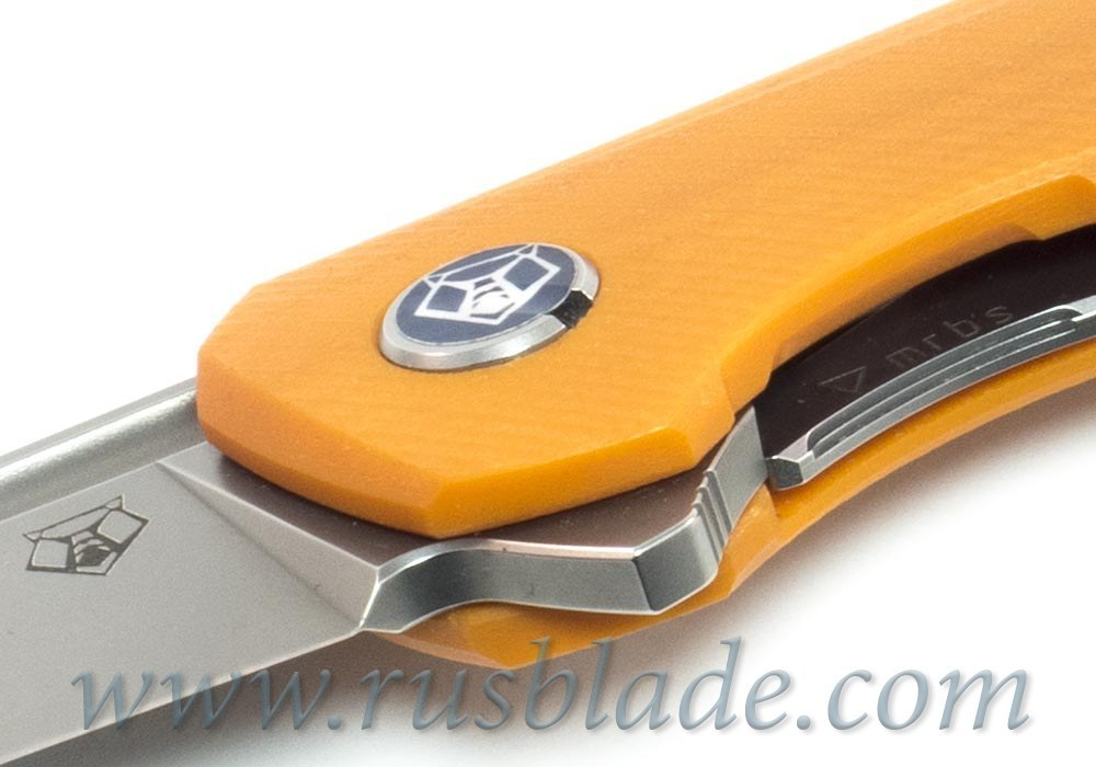 Shirogorov 111 S30V G10 orange 3D MRBS - фотография