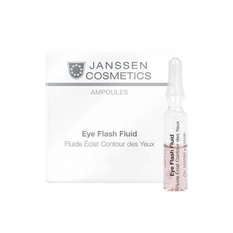 JANSSEN | Увлажняющая и восстанавливающая сыворотка в ампулах для контура глаз / Eye Flash Fluid