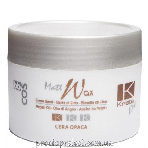 BBcos Kristal Evo Matt Wax - Віск матовий для волосся