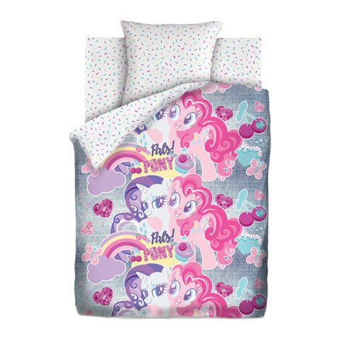 Комплект постельного белья My little Pony ( Подружки Пони) 1,5