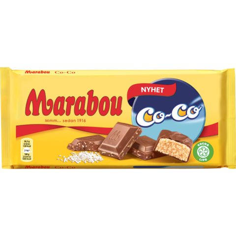 Marabou Co-co 185 гр