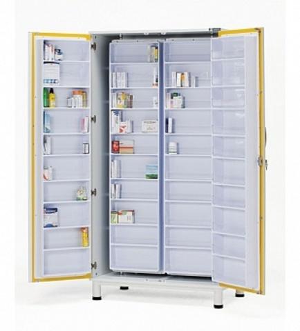 Шкаф для медикаментов из ДСП, облицованного биламинатом 13-FP801 - фото