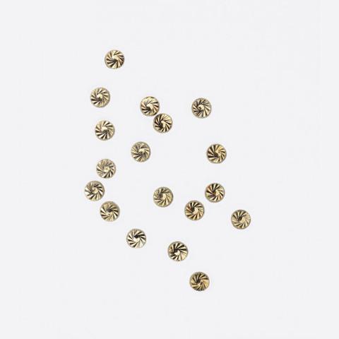 ARTEX Диск граненный золото 2х2 мм