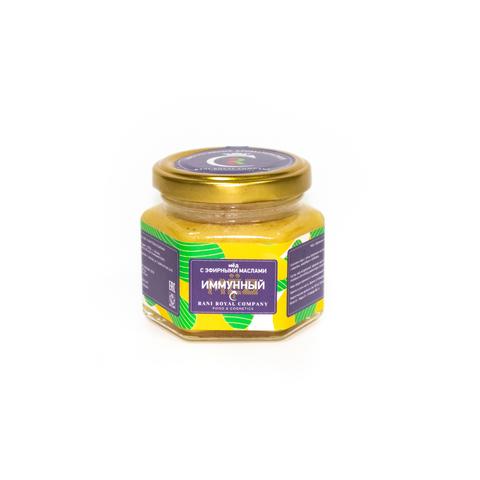 Мёд с эфирными маслами «Иммунный» 120 г