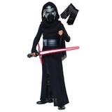 Детский костюм Кайло Рена со световым мечом (+перчатки)