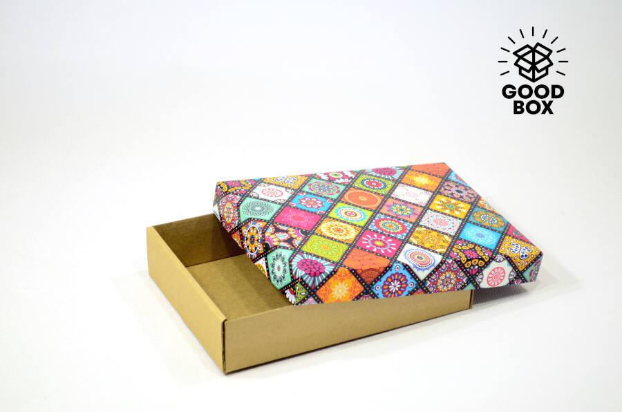 Подарочная коробка в этно стиле купить в Алматы