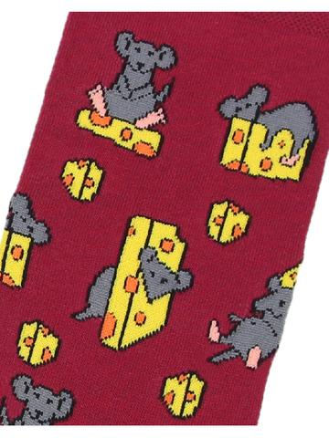 Носки Мышь на сыре
